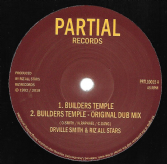 Orville Smith & Riz - Builders Temple / Dub / Builders Temple LP Mix / Dubplate Mix (Partial) 10""